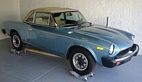 1980 FIAT 2000 Spider for sale 100848543