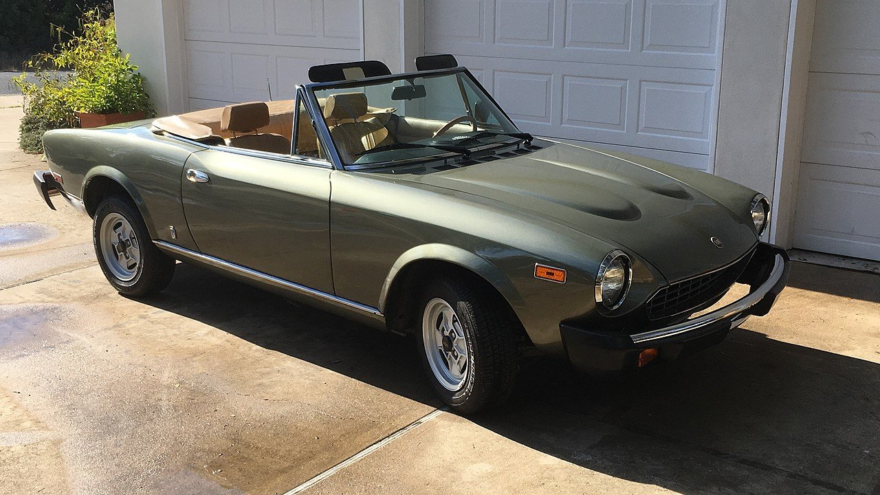 1980 FIAT 2000 Spider for sale 100927652