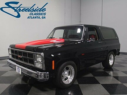 1980 GMC Jimmy for sale 100948127
