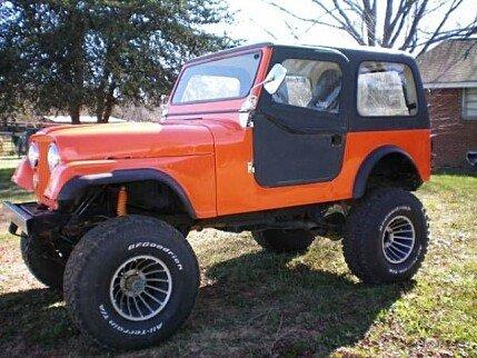 1980 Jeep CJ-7 for sale 100807615