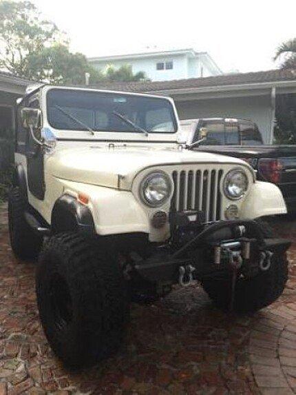 1980 Jeep CJ-7 for sale 100827219