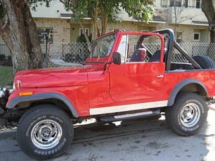 1980 Jeep CJ-7 for sale 100883632