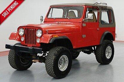1980 Jeep CJ-7 for sale 100992850