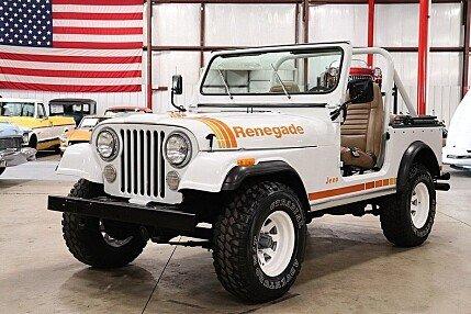 1980 Jeep CJ-7 for sale 100995925