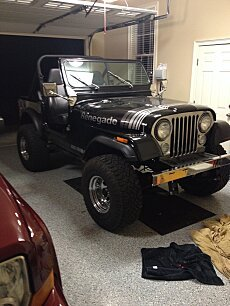 1980 Jeep CJ-7 for sale 100987253