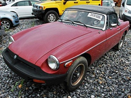 1980 MG MGB for sale 100785227