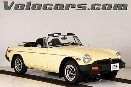 1980 MG MGB for sale 101050487