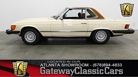 1980 Mercedes-Benz 450SL for sale 100934451
