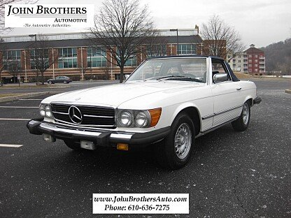 1980 Mercedes-Benz 450SL for sale 100962048