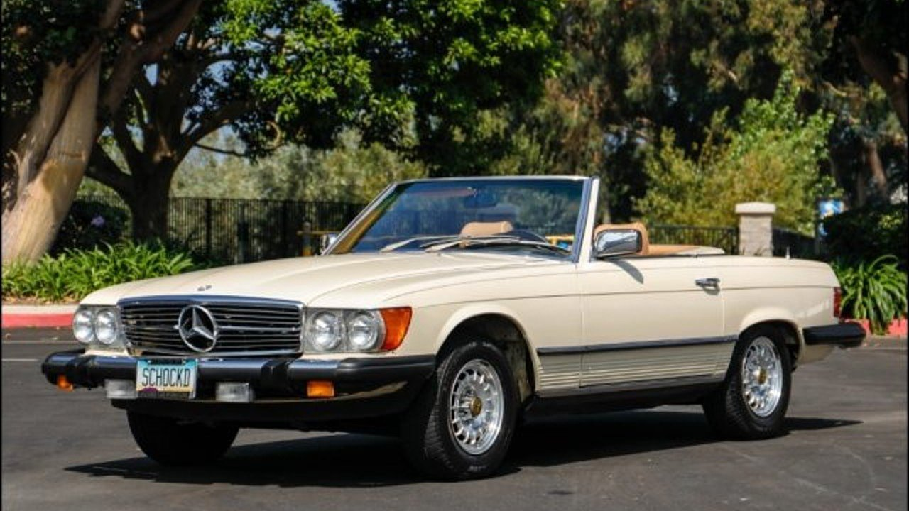 1980 mercedes-benz 450SL for sale 101019461