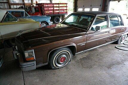1981 Cadillac Fleetwood Brougham Sedan for sale 101019077