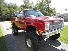1981 Chevrolet Blazer 4WD for sale 100795751