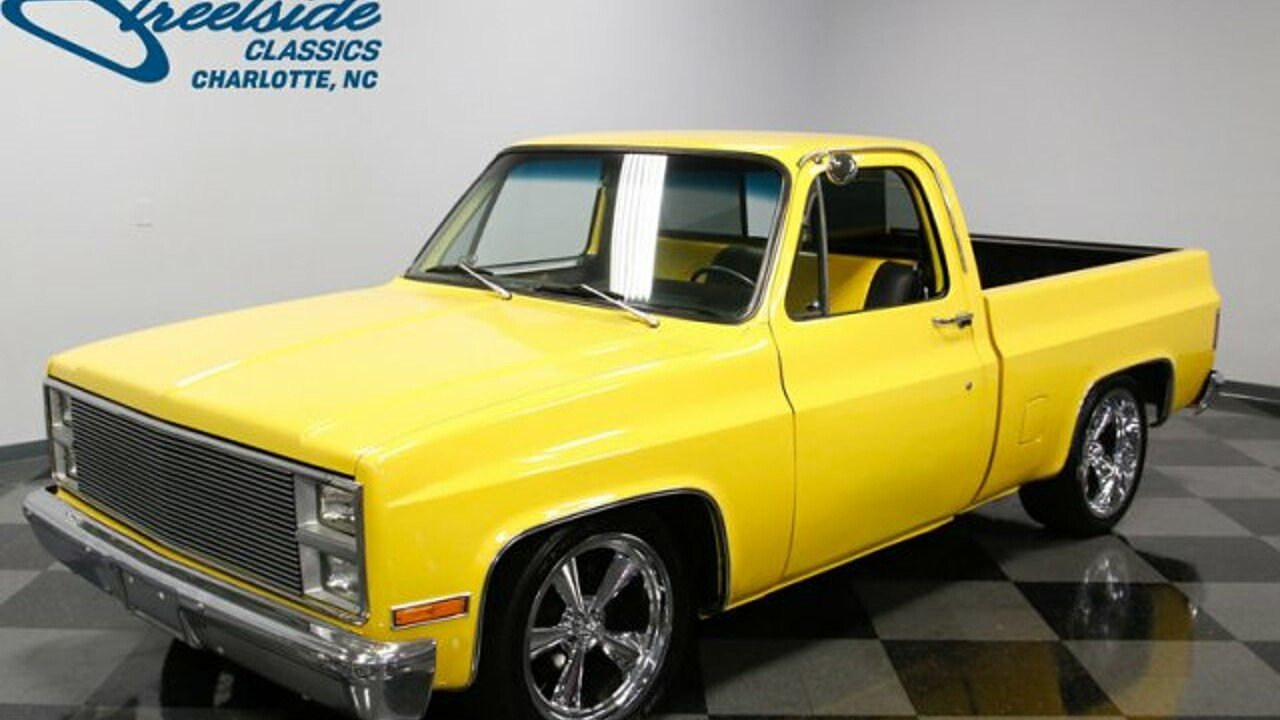 1981 Chevrolet C/K Truck for sale near Concord, North Carolina 28027 ...