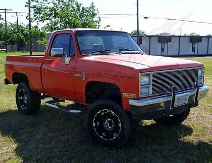1981 Chevrolet C/K Truck 4x4 Regular Cab 1500 for sale 100831461