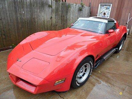 1981 Chevrolet Corvette Coupe for sale 100290122
