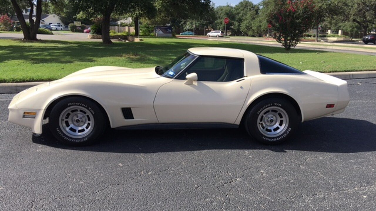 1981 Chevrolet Corvette Coupe for sale 100796688