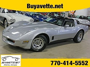1981 Chevrolet Corvette Coupe for sale 100859091
