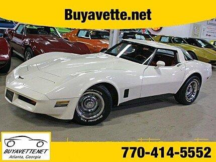 1981 Chevrolet Corvette Coupe for sale 100980732