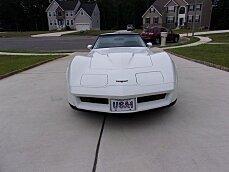 1981 Chevrolet Corvette Coupe for sale 101002316