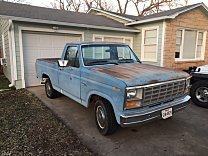 1981 Ford F100 2WD Regular Cab for sale 100962823