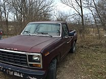 1981 Ford F100 2WD Regular Cab for sale 100967655
