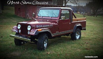 1981 Jeep Scrambler for sale 100971370