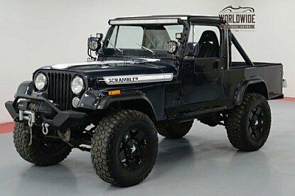 1981 Jeep Scrambler for sale 100989051