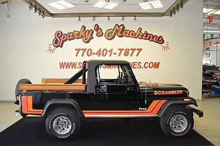 1981 Jeep Scrambler for sale 100991198