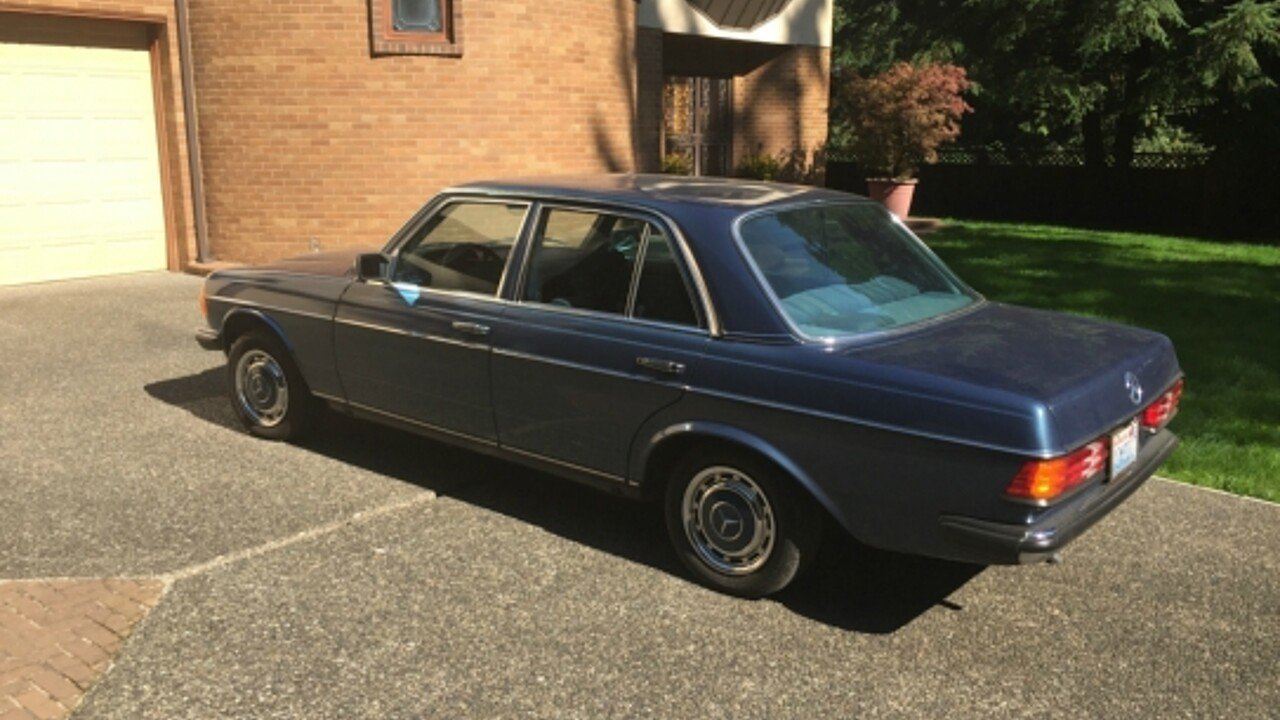 1981 mercedes benz 300d for sale near bellvue washington for Mercedes benz b3 service