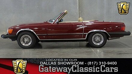 1981 Mercedes-Benz 380SL for sale 100997901