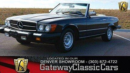 1981 Mercedes-Benz 380SL for sale 101034205