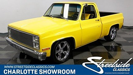 1981 chevrolet C/K Truck for sale 100977996