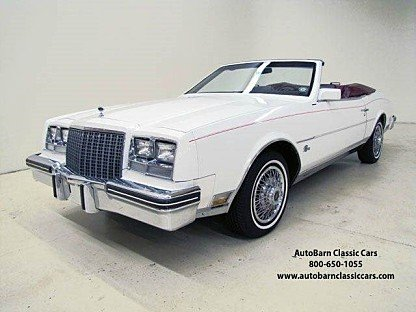 1982 Buick Riviera Convertible for sale 100723837