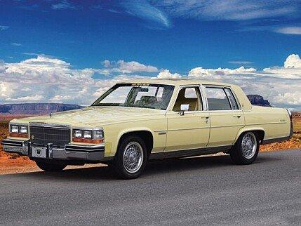 1982 Cadillac Fleetwood Brougham Sedan for sale 100966009