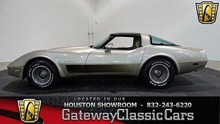 1982 Chevrolet Corvette Coupe for sale 100920782