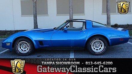 1982 Chevrolet Corvette Coupe for sale 100931282