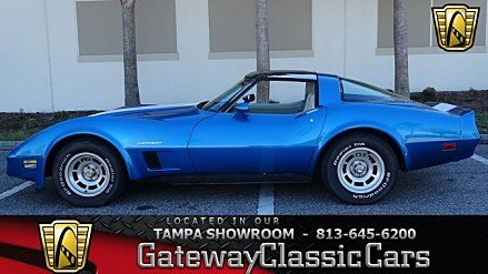 1982 Chevrolet Corvette Coupe for sale 100950594