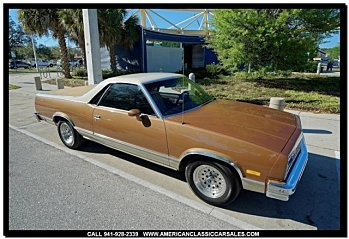 1982 Chevrolet El Camino V8 for sale 100969049