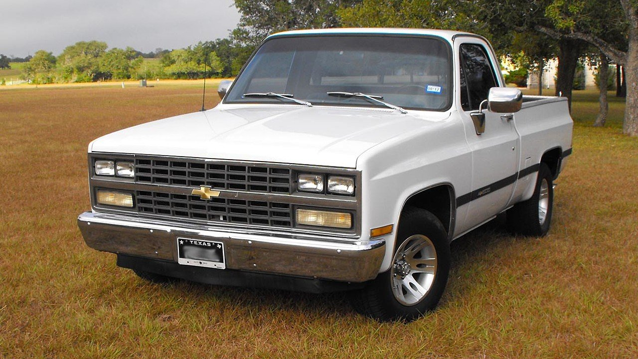 1982 Chevrolet Silverado and other C/K1500 2WD Regular Cab for sale 100889900
