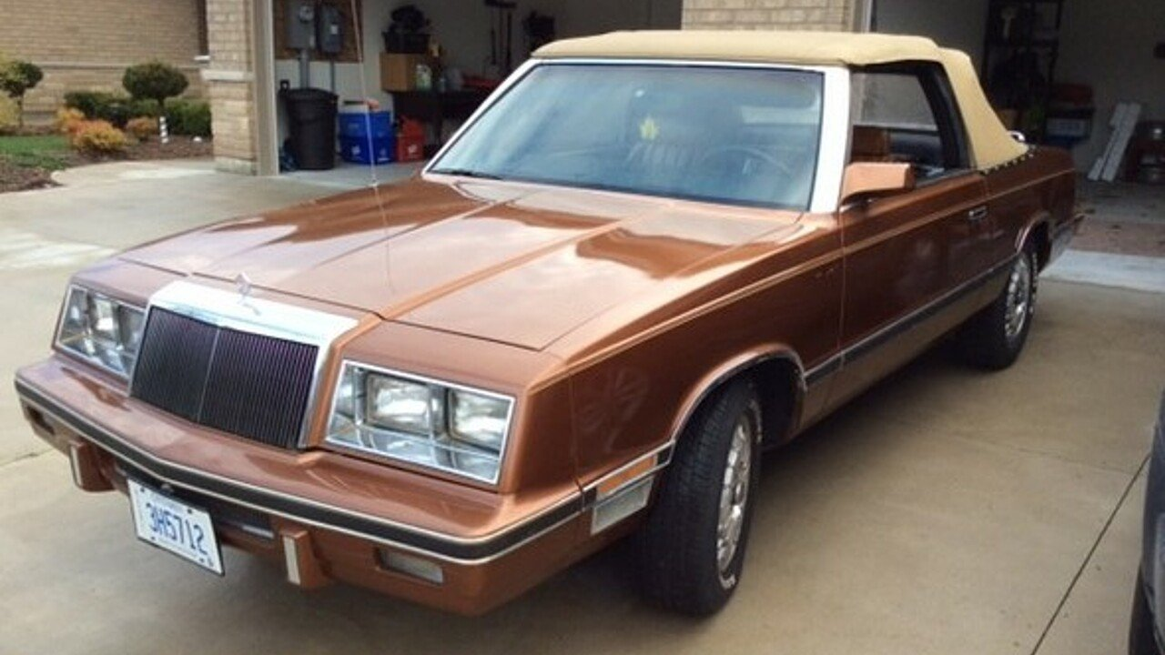 1982 Chrysler LeBaron for sale 100882742