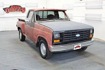 1982 Ford F100 2WD Regular Cab for sale 100852088