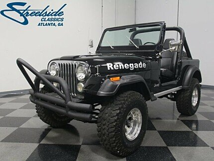 1982 Jeep CJ 7 for sale 100945599