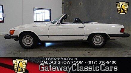 1982 Mercedes-Benz 380SL for sale 100920950