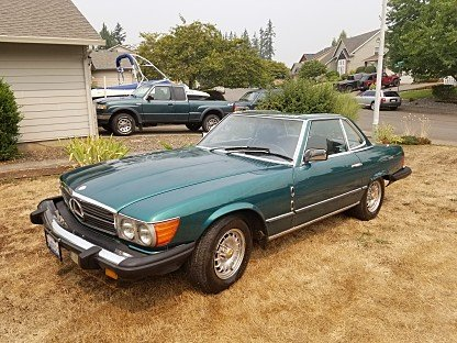 1982 Mercedes-Benz 380SL for sale 101018019