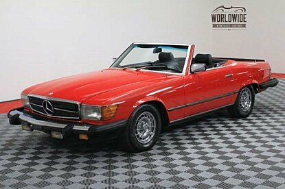 1982 Mercedes-Benz 500SL for sale 100863157