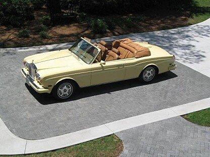 1982 Rolls-Royce Corniche for sale 100991081