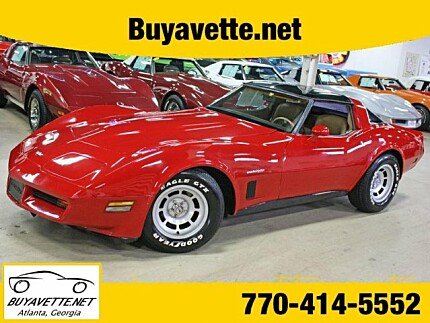 1982 chevrolet Corvette Coupe for sale 100996542