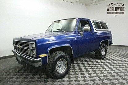 1983 Chevrolet Blazer 4WD for sale 100772639