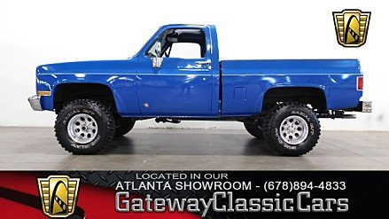 1983 Chevrolet C/K Truck 4x4 Regular Cab 1500 for sale 101002339