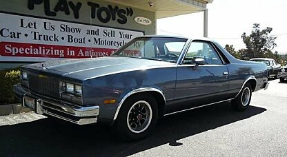 1983 Chevrolet El Camino V8 for sale 100958920